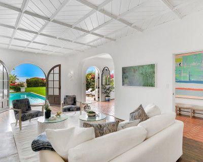 Spanish Beach House with Ocean View, Santa Monica, CA