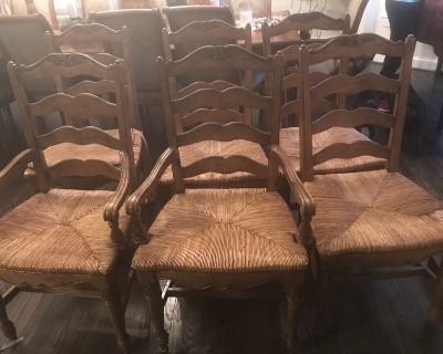 French Ladder Back Chairs