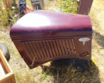1936 Ford pickup hood, excellent condition