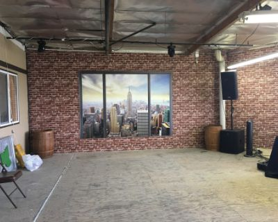 Industrial Warehouse with Loft, Bar, and Pool Table, Sun Valley, CA