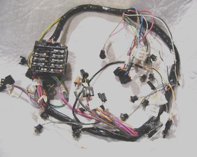 1969 Chevelle El Camino Tach And Gauge Dash Cluster Housing Wiring Harness