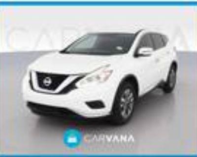 2017 Nissan Murano White, 74K miles