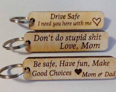 NEW Keychains (each)