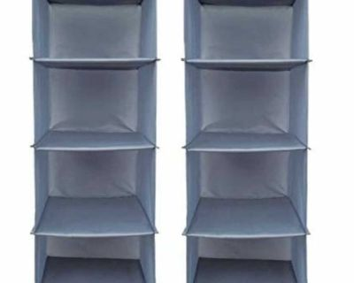 New! Closet organizers 4 tier, 2 for $10