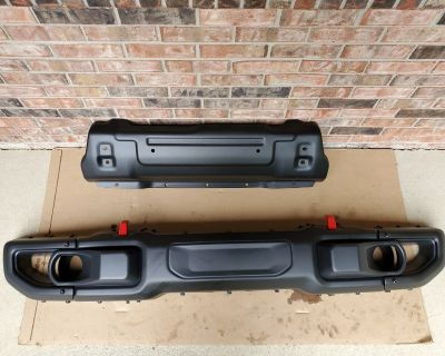 Indiana - Steel Front & Rear Bumpers - 2021 JLUR - Perfect Condition
