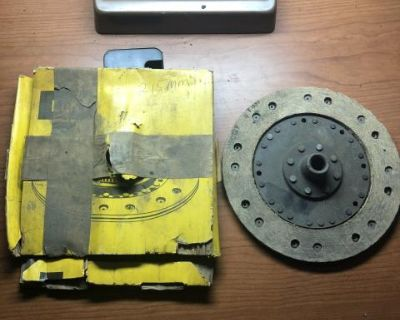 NOS OEM 215mm Clutch and Pressure Plate