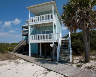 Gulf-view Duplex | Out/Kiddie pools, Screened in porch with TV, Wifi | Free golf, fishing, OWA tix - Fort Morgan