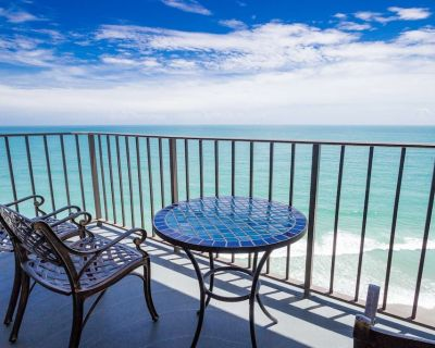 Oceanfront 2 Bdrm Condo at Royal Garden. FREE Water Park, Aquarium, Mini-Golf & More Every Day! 1512 - Garden City Beach