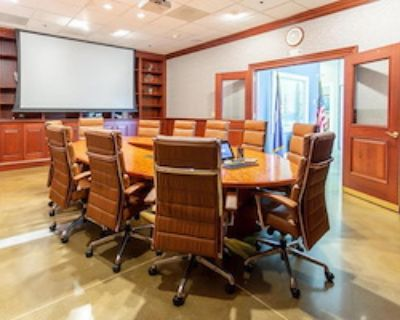 Private Meeting Room for 10 at Upscale meeting/office space
