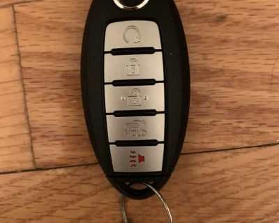 New Nissan key fob. Also have a Jeep key fob