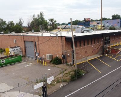 25,000 SF Free-Standing Industrial/Manufacturing Building For Lease. Central Denver