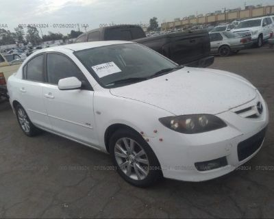 Salvage White 2007 Mazda Mazda3