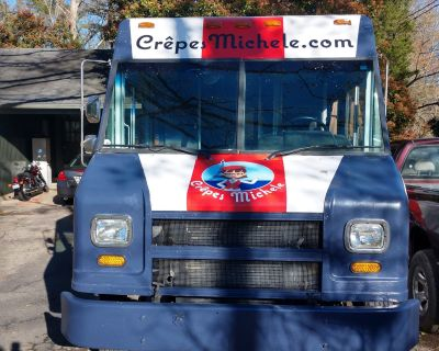 Fantastic French Crepe Customizable Food Truck in Durham, NC