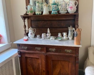 Jeffers Estate Sales is in a beautiful North Wales farmhouse full of antiques and amazing decor!