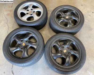 Porsche 986S Boxster wheels