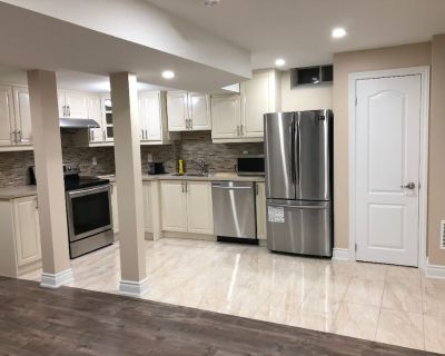 Fully Furnished 2 bedroom basement apartment for a family - East Credit