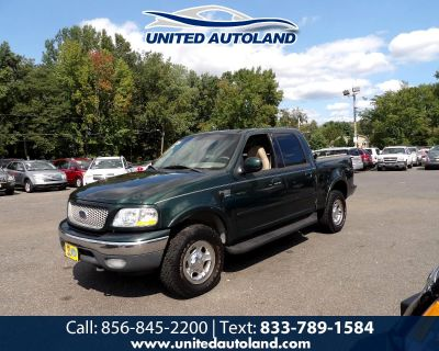 """Used 2001 Ford F-150 SuperCrew Crew Cab 139"""" King Ranch 4WD"""