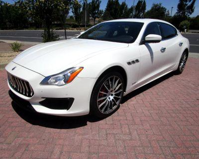 Used 2017 Maserati Quattroporte S GRANSPORT W/404HP**HEAT-VENT SEATS**FULL DRIVER