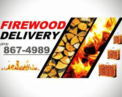 Firewood delivery El Paso
