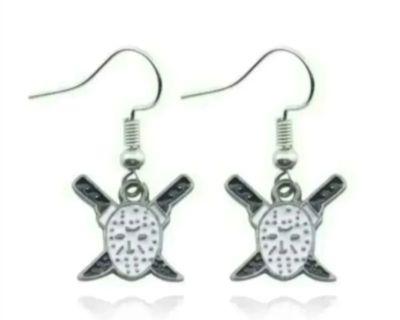 Jason voorhees earrings