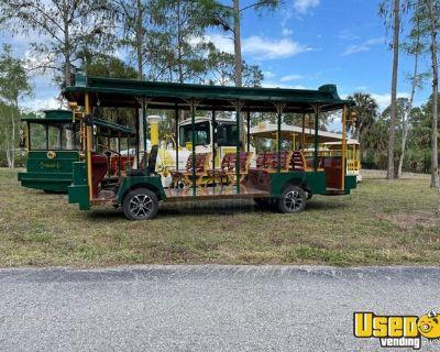 Brand New 2021 Gel Battery-Powered Retro-Style Tram 14-Seater Trolley