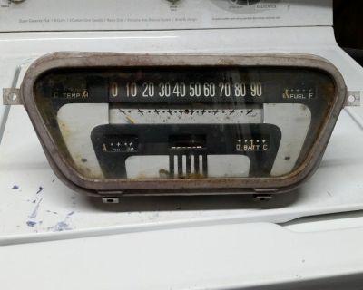 RARE 1953 1954 1955 FORD TRUCK SPEEDOMETER DASH GAUGE CLUSTER 53 54 55 FOMOCO