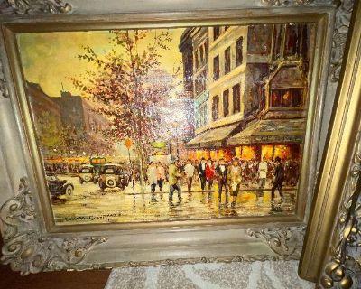 Huntley ESTATE SALE ART collectors dream