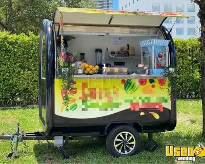 2018 Street Food Concession Trailer in Immaculate Condition