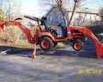 2009 Kubota Bx25d 4x4 Tractor Loader Backhoe