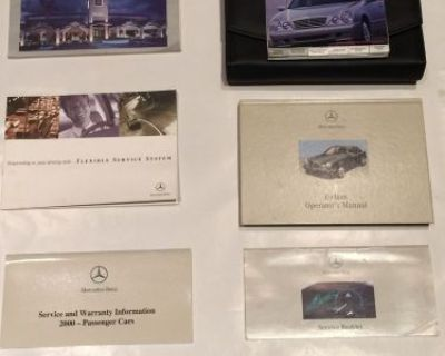 2000 Mercedes Benz E Class E300 Complete Owners Manual Book Operator Information