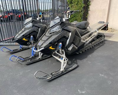 2021 Polaris 850 RMK KHAOS 163 2.6 in. Factory Choice Snowmobile Mountain Elk Grove, CA