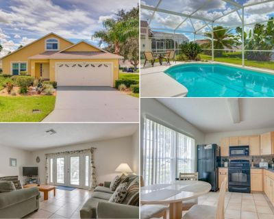 Private Pool Tile Floors Free WiFi - Southern Dunes - Haines City