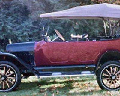 Burgundy 1916 Maxwell Touring Model 25