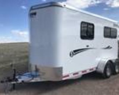 """2021 Shadow Trailer Inc Stablemate Series 2-Horse Straight """"Arriving in Au 2"""