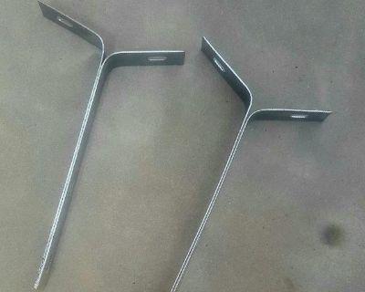 Chrome Front Bumper brackets