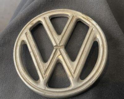 Original 4 prong VW hood emblem 54-60