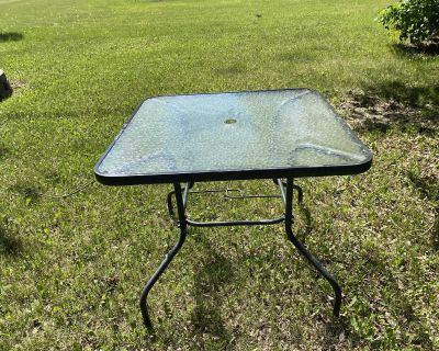patio table only