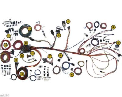 1964-1967 Chevelle Wiring Harness Kit American Autowire Classic Update 500981