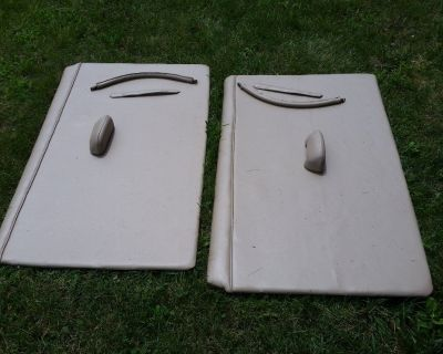 1942 1948 Lincoln Continental DOOR PANELS CONVERTIBLE RARE SUNVISORS RECOVERED