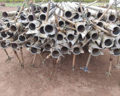 """4""""Irrigation pipe\risers"""