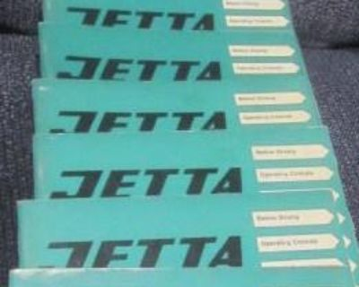 Jetta Owner Manual's LOT of 24 Plus:NOS