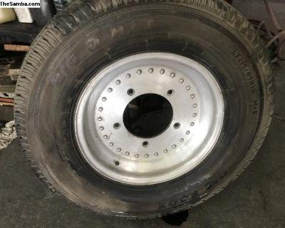 "16"" centerline wheel and tire"