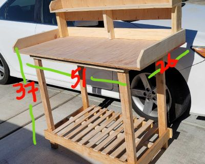 Work Bench multi purpose table garrage patio