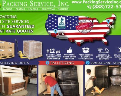 Packing Service, Inc. Professional Shipping and Packing Boxes - Manhattan, New York