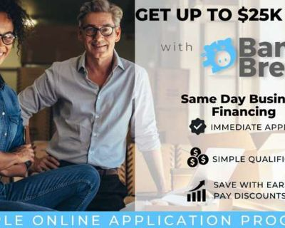 $25k for your business tomorrow