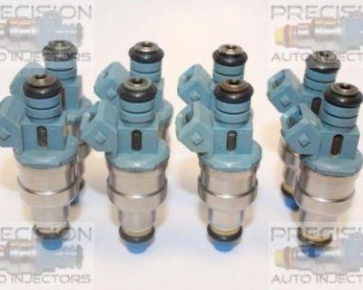 Set Of 8 Upgrade Rebuilt 1994 - 1996 Buick Roadmaster 5.7l Fuel Injectors