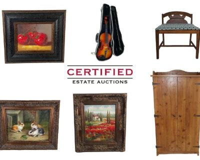 Certified Estate Sales Presents Full Estate Auction of Roswell Home!