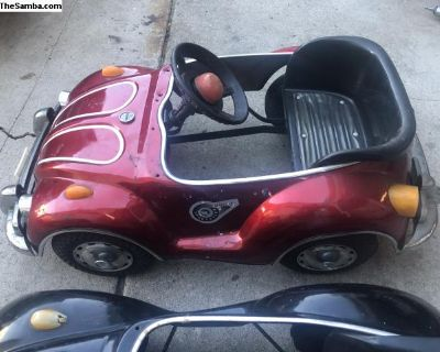 Vw pedal car red good condition