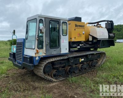 Vermeer V500LE Vacuum System on IHI IC70-2 Crawler Carrier
