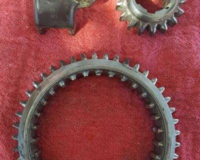 Swing Axle Reverse Gear, Slider, & Carrier